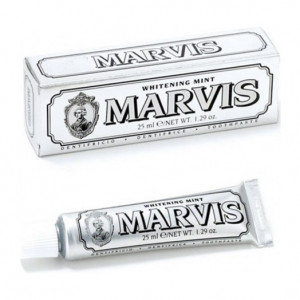 MARVIS - Dentifrice Whitening Mint (Menthe Blanchissante) - 25 ml 8004395110322