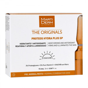 MartiDerm The Originals - Proteos Hydra Plus SP - 10 Ampoules 8437000435150