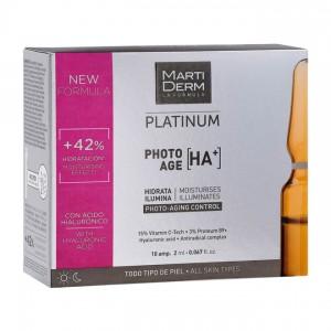 Martiderm Platinum - Photo-Age [HA+] - 10 Ampoules 8437000435372