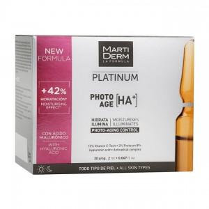 MartiDerm Platinum - Photo-Age [HA+] - 30 Ampoules 8437000435440