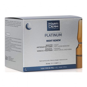 MartiDerm Platinum - Night Renew - 30 Ampoules 8437000435594