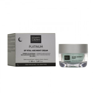 Martiderm Platinum - Gf Vital Age Night Cream - 50 ml 8437015942285