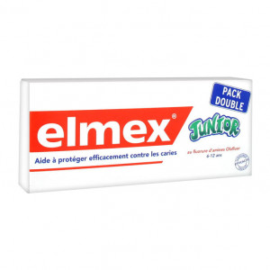 Elmex 2 Dentifrices Junior 75 ml Lot de 2 Offre Spéciale 8714789707419