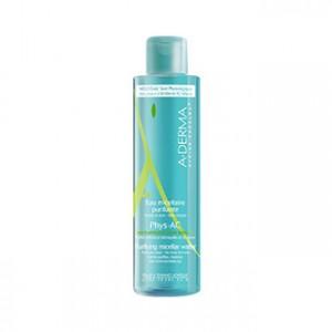 Aderma Phys-Ac Eau Micellaure Purifiante 400 ml votre eau purifiante, nettoyant et démaquillante pour visage et yeux des peaux à tendance acnéique Hyperpara
