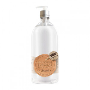 Les Petits Bains de Provence Savon Liquide de Marseille Amande 1 Litre Hygiène du corps, des cheveux et des mains Hyperpara