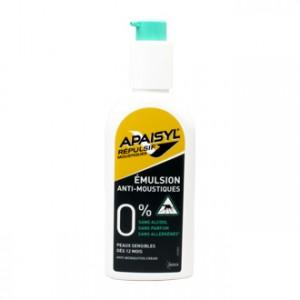 Apaisyl Émulsion Anti-Moustiques 90 ml Dès 12 mois Peaux sensibles 0% alcool, parfum et allergènes