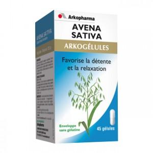 Arkopharma Arkogélules - Avena Sativa  45 Gélules Favorise la détente et la relaxation Moral stress et sommeil