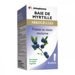 Arkopharma Arkogélules - Baie de Myrtille 45 Gélules Transit et vision nocturne