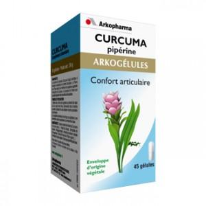 Arkopharma Arkogélules - Curcuma Pipérine 45 Gélules Confort articulaire