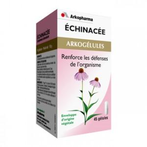 Arkopharma Arkogélules - Echinacée 45 Gélules renforce les défenses de l'organisme