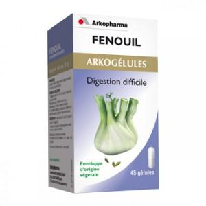 Arkopharma Arkogélules - Fenouil 45 Gélules Bien-être digestif et transit Digestion difficile