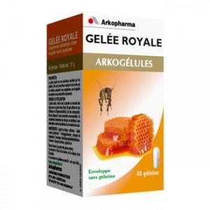 Arkopharma Arkogélules - Gelée Royale 45 gélules Produits issus de la ruche Gelée Royale