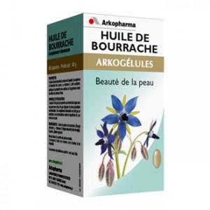 Arkopharma Arkogélules - Huile de Bourrache 180 Gélules Soin de la peau Jeunesse et éclat de la peau