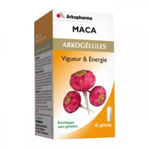 Arkopharma Arkogélules - Maca 45 Gélules Vigeur & Energie Tonus & vitalité