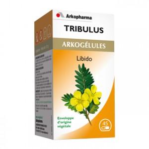 Arkopharma Arkogélules - Tribulus 45 Gélules Libido Enveloppe d'origine végétale
