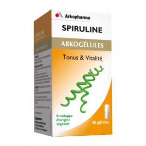 Arkogélules - Spiruline - 45 Gélules