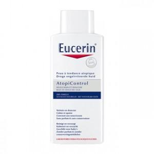 Eucerin AtopiControl - Huile Bain et Douche 20% OMEGA 400 ml Nettoie en douceur Calme et apaise Convient aux nourrissons 20% OMEGA aux huiles naturelles Sans parfum & sans conservateur