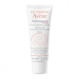 Avène Antirougeurs Jour - Crème Hydratante Protectrice SPF20 - 40 ml Peaux sensibles à très sèches à tendance couperosique Hypoallergénique 3282779310628