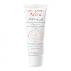 Avène Antirougeurs Jour - Emulsion Hydratante Protectrice SPF20 - 40 ml Peaux sensibles normales à mixtes à tendance couperasique 3282779310673