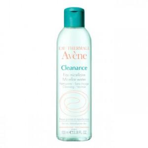 Avène Cleanance Eau Micellaire 100 ml Nettoyante  Sans Rinçage  Pour peaux grasses à imperfections  Format Voyage ! 3282770037326