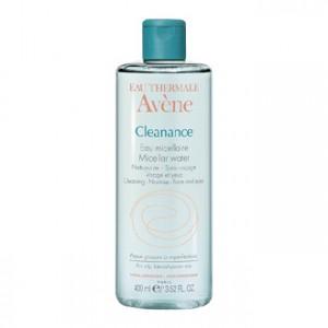 Avène Cleanance Eau Micellaire 400 ml sans rinçage pour les peaux grasses à imperfections 3282770037319
