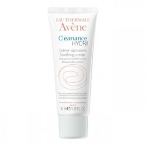 Avène Cleanance Hydra Crème Apaisante 40 ml Restaure le confort cutané pour les peaux sous traitement anti-acnéique 3282770037340