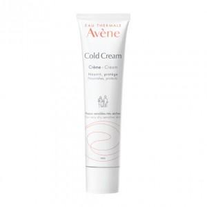 Avène Cold Cream - Crème - 100 ml Nourrit, protège Peaux sensibles très sèches Pour toute la famille Corps et visage 3282779002721
