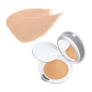 Avène Couvrance - Crème de Teint Compacte Fini Mat SPF30 - n°1 Porcelaine - 10gr Peaux sensibles normales à mixtes Protection anti-UV SPF 30