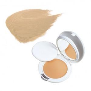 Avène Couvrance - Crème de Teint Compacte Fini Mat SPF30 - n°2 Naturel - 10gr Peaux sensibles normales à mixtes Protection anti-UV SPF 30