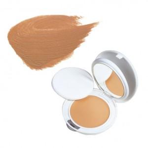 Avène Couvrance - Crème de Teint Compacte Fini Mat SPF30 - n°4 Miel - 10gr Peaux sensibles normales à mixtes Protection anti-UV SPF 30