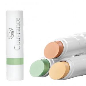 Avène Couvrance - Stick Correcteur SPF20 - Vert - 3gr Peaux sensibles Atténue les rougeurs 3282779292276
