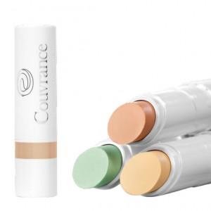 Avène Couvrance - Stick Correcteur SPF30 - Corail - 3gr Peaux sensibles Atténue les cernes prononcées et les taches hyperpigmentée 3282779292245