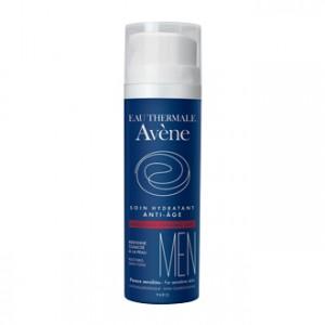 Avène Homme Soin Hydratant Anti-Âge 50 ml Pour les peaux sensibles, redonne de la tonicité
