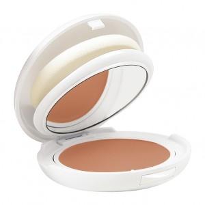 Avène Compact Sable SPF50 - 10g Sans filtre chimique Peaux intolérantes Hypoallergénique Antioxydant