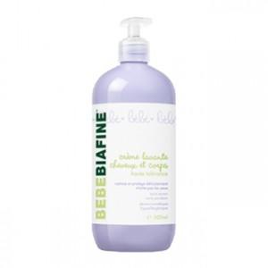 Biafine Bébébiafine - Crème Lavante Cheveux et Corps 1L Nettoie et protège la peau délicate de bébé