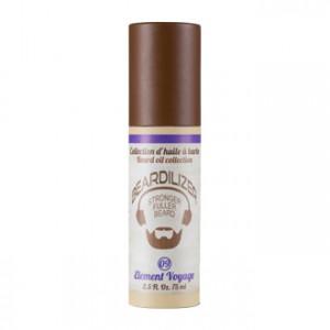 Beardilizer 09 Element Voyage - Huile pour Barbe 75 ml Element Voyage : parfum boisé et masculin, frais et légérement  fumé, terriblement élégant et sophistiqué