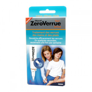 becur objectif zeroverrue stylo 30 applications traitement des verrues des mains et des pieds