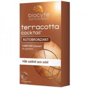 Biocyte Terracotta Cocktail Autobronzant 30 Comprimés Hâle sublimé sans soleil 3401560075359