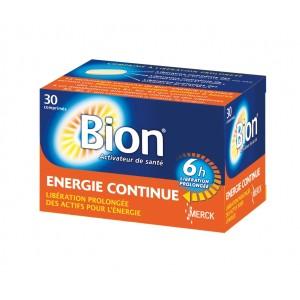 Bion - Énergie Continue - Activateur de Santé - 30 Comprimés