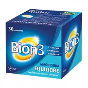 Bion Equilibre 30 Comprimés votre complément alimentaire pour vous aider à garder un bon équilibre nerveux et physique Hyperpara