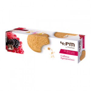 Protifast 4:PM Biscuits Fruits Rouges 20 biscuits