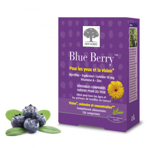 Blue Berry - 120 Comprimés