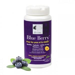 New Nordic Blue Berry 240 Comprimés (soit 4 boites de 60 comprimés) Contribue à un fonctionnement oculaire optimal et au maintien d'une bonne vision