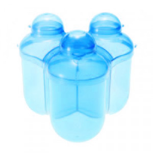 Boites à Lait 3 Compartiments Bleu
