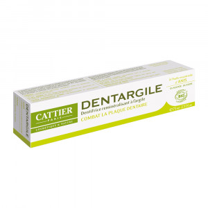 Cattier Dentargile Anis -  Dentifrice Combat La Plaque Dentaire  - 75 ml 3283950040068