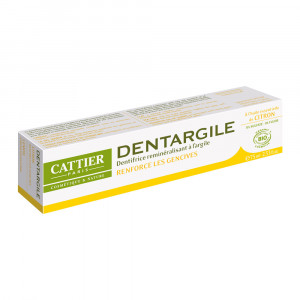 Cattier Dentargile Citron - Dentifrice Gencives Irritées - 75 ml 3283950040051