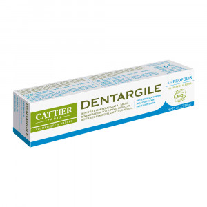 Cattier Dentargile Propolis - Dentifrice Protection Quotidienne - 75 ml 3283950040075