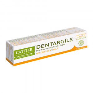 Cattier Dentargile Sauge - Dentifrice Gencives Sensibles - 75 ml 3283950040044