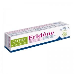 Cattier Eridène - Dentifrice Blanchissant - Sans Sulfates Ni Fluor - 75 ml Au complexe protéolytique actif 0% peroxyde Sans sulfate