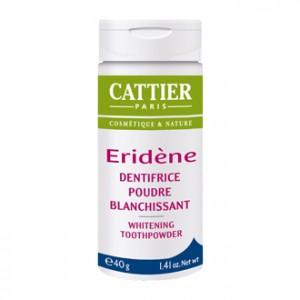 Cattier Eridène - Dentifrice Poudre Blanchissant 40g Une poudre douce active contre les taches